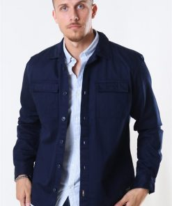 Jack & Jones Walter Overshirt Navy Blazer