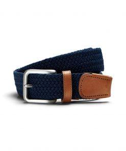 Jacspring woven belt - Navy Blazer