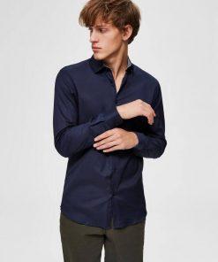 Slim Mark shirt - Navy blazer