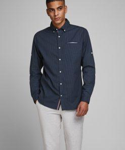 Tape shirt slim fit - Navy Blazer