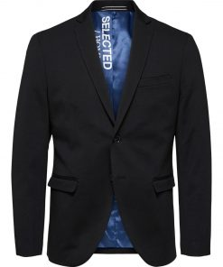 Flex Blazer slim fit - Sort