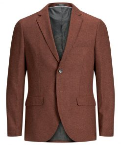 JACK & JONES Slim Fit Blazer Mænd Brun
