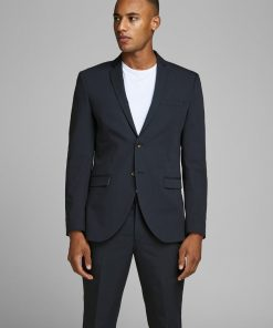 JACK & JONES Super Slim Fit Blazer Mænd Sort