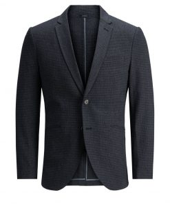 JACK & JONES To Knapper Slim Fit Blazer Mænd Grå