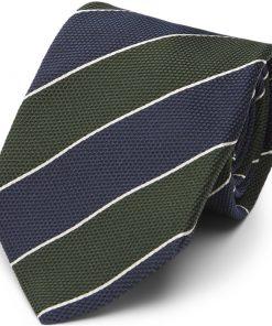 Paul Smith Accessories OTIE E40829 Slips Navy/grøn