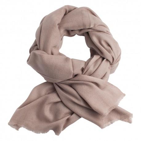 Cashmere tørklæde gråbrun