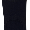 CSC- Footies med silikone hæl - Sort bambus str. 36-40